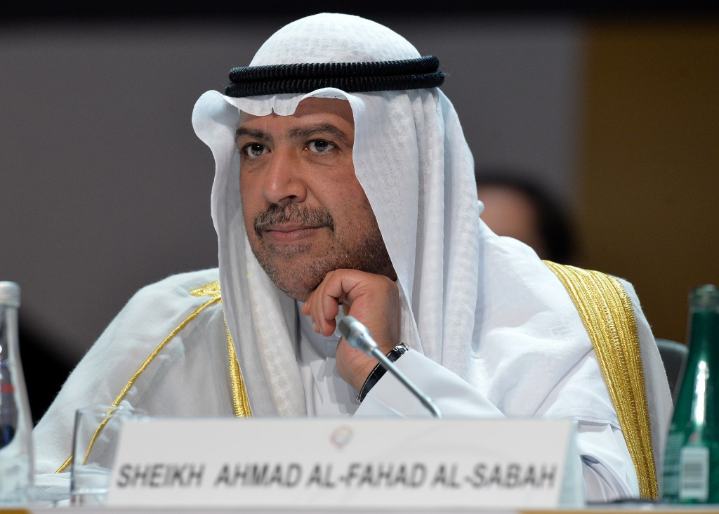 ANOC Preisdent Sheikh Ahmad Al-Fahad Al-Sabah and all ANOC vice presidents unanimously approved the move to cover the cost of Patrick Hickey's bail so he can return home to Ireland ©Getty Images