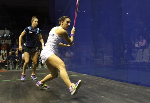 France made history by beating Australia to qualify for the semi-finals ©World Squash