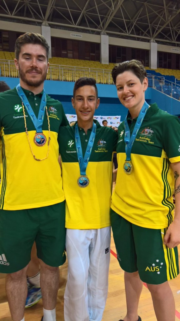 Australia were the dominant force at the Oceania Taekwondo Championships in Fiji's capital Suva, winning seven of the eight senior gold medals on offer at the Vodafone Arena ©Di Carn/Twitter