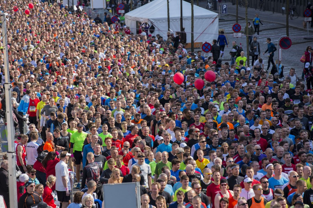 More than 30,000 participants had a part in the 2014 IAAF World Half Marathon Championships in Copenhagen, and Aarhus plans to add fresh Danish innovation when it hosts the 2019 IAAF World Cross Country Championships ©Getty Images