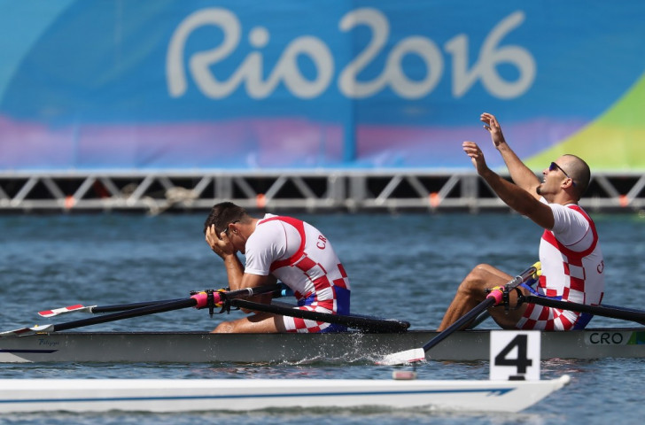 Croatia's Sinkovic brothers take in becoming Olympic double sculls champions in Rio - but how will they do at the forthcoming World Championships in Florida where they are competing in the men's pair? ©Getty Images