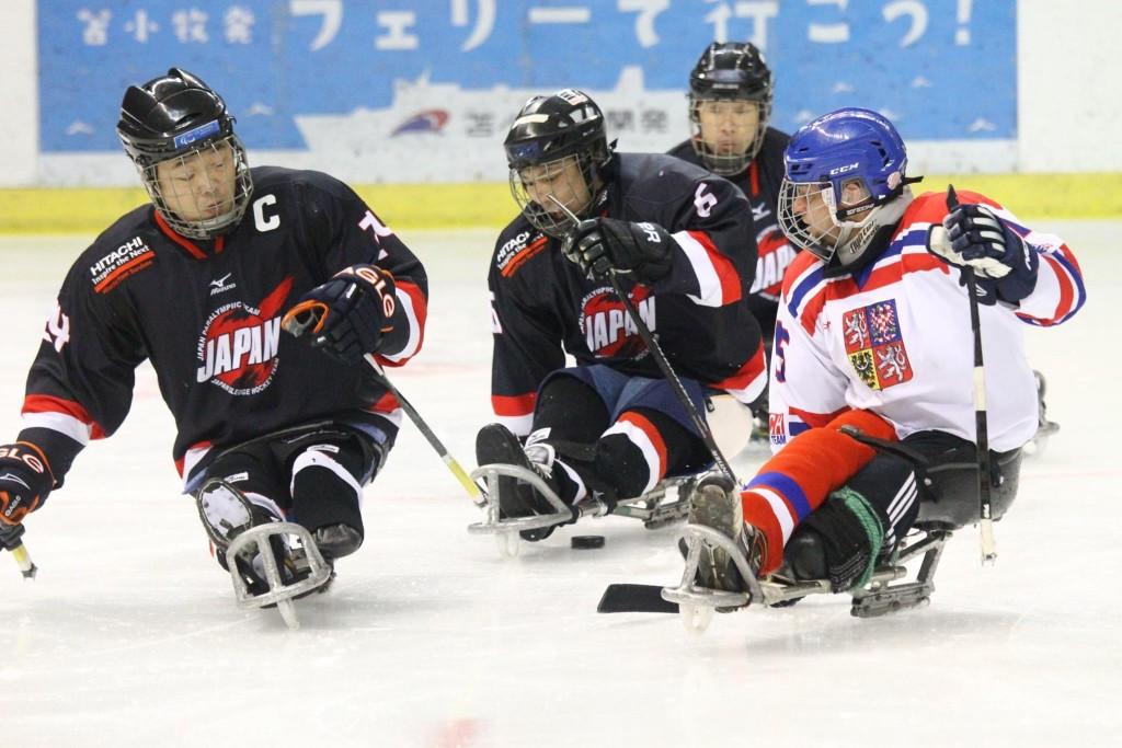 Czech Republic draw first blood against Japan ahead of IPC Para Ice Hockey World Championships B-Pool final