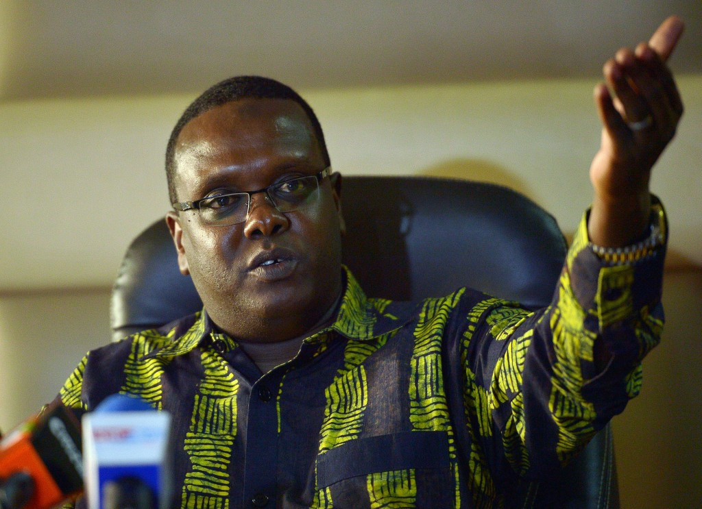 Kenyan Sports Minister Hasan Wario dissolved the National Olympic Committee of Kenya after the Rio 2016 Games ©Getty Images