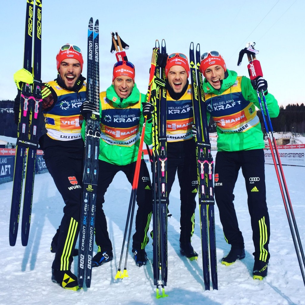 Germany beat hosts Norway to FIS Nordic Combined World Cup victory in Lillehammer