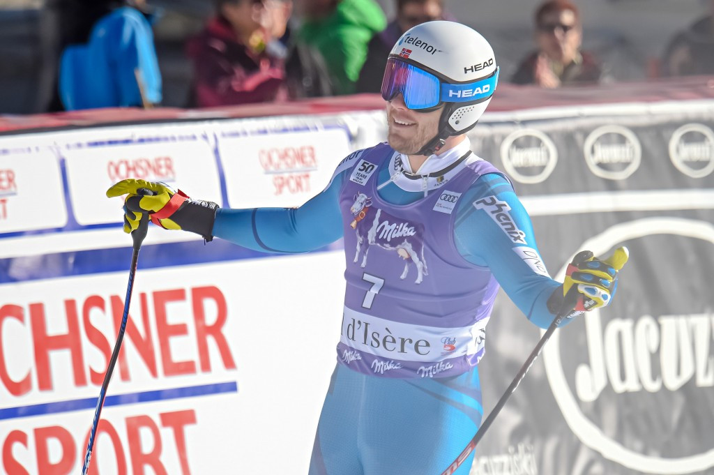 Olympic champion Jansrud wins super-G event at FIS Alpine Skiing World Cup in Val d'Isère