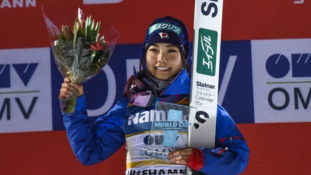 Takanashi gets FIS Ski Jumping World Cup title defence off to winning start in Lillehammer