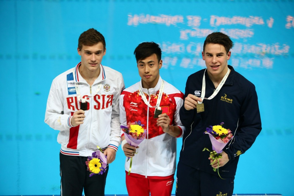 China dominate day five of 2016 FINA World Junior Diving Championships