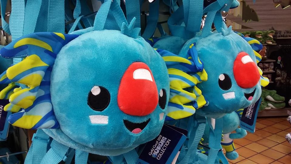 Gold Coast launched their online shop and mascot product range last December ©Facebook/Gold Coast 2018
