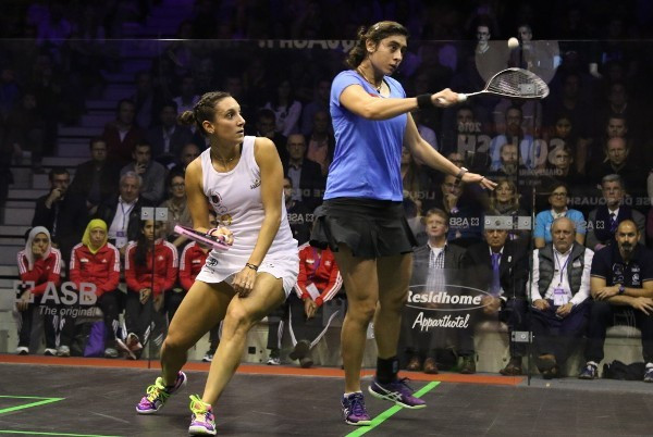 Egypt and England show class to set-up WSF Women's World Team Squash Championship final