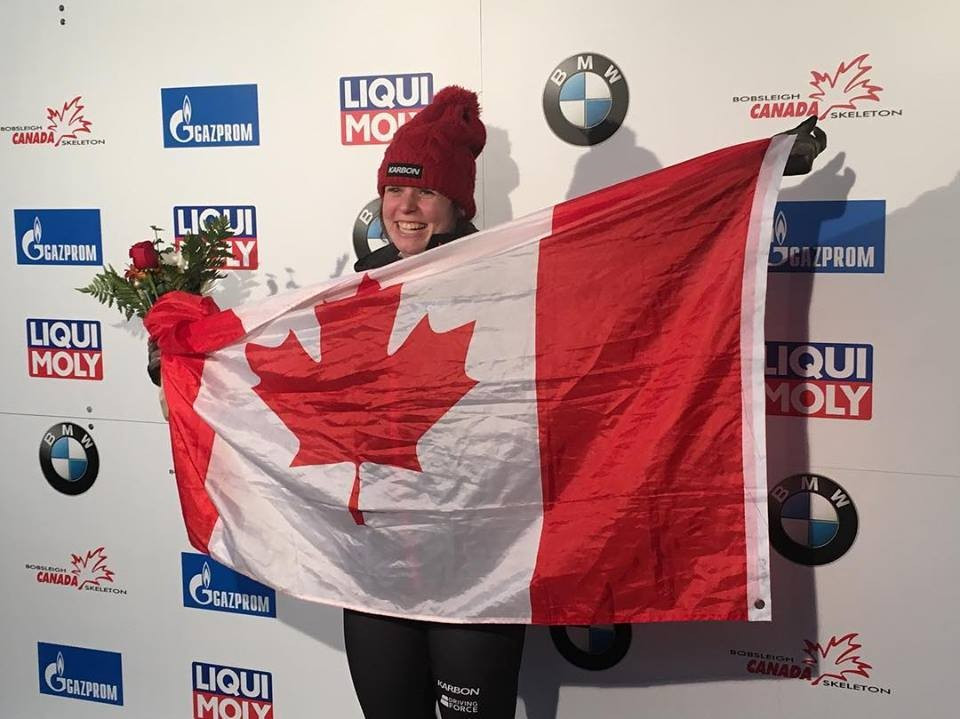 Vathje slides to home victory at Whistler in Skeleton World Cup season opener