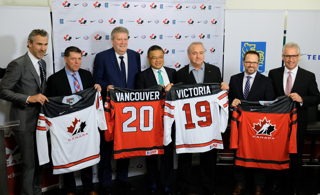 Vancouver and Victoria to host 2019 IIHF World Junior Championship b179399265b