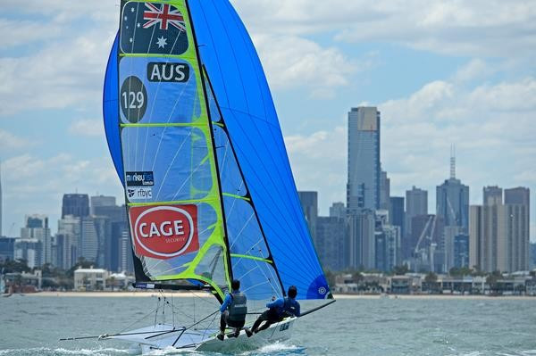 Sailing World Cup Final set to bring season to a close in Melbourne's St Kilda foreshore