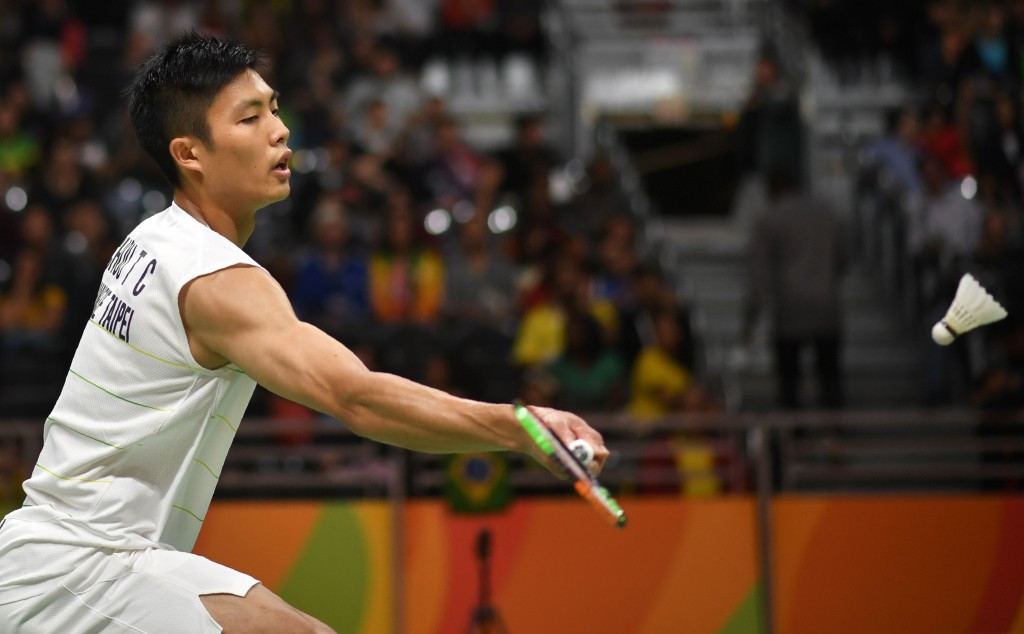 Top seed Chou reaches men's singles final at BWF Macau Open