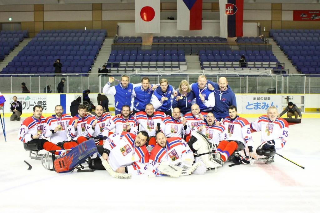 Czech Republic convincingly beat Japan to claim IPC Para Ice Hockey World Championships B-Pool title
