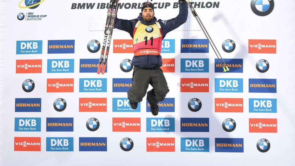 Fourcade wins again as Dorin Habert seals victory in women's race at IBU World Cup