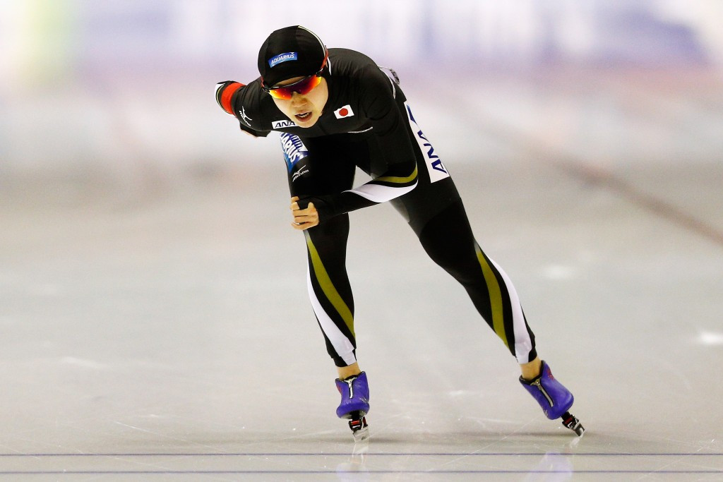Miho Takagi of Japan claimed her first career World Cup title in the women's 1,000m event ©Getty Images