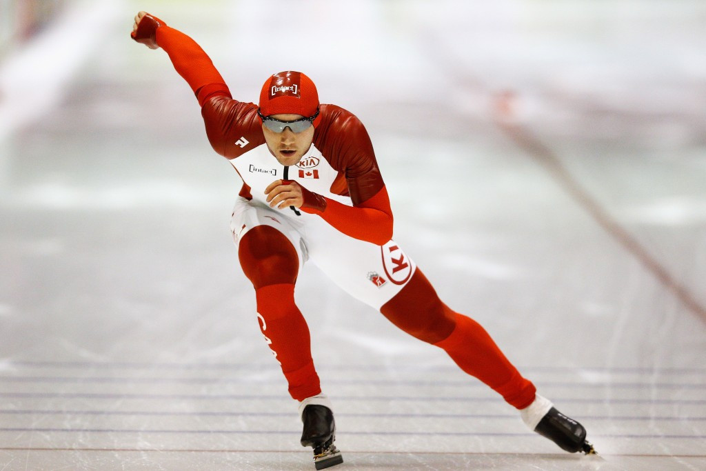 Vincent De Haitre of Canada won the men's 1,000m gold medal today ©Getty Images
