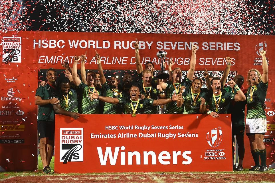 South Africa beat Olympic champions Fiji to clinch men's Dubai Sevens Cup