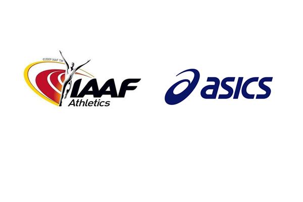 The IAAF has announced a new three-year deal with ASICS ©IAAF