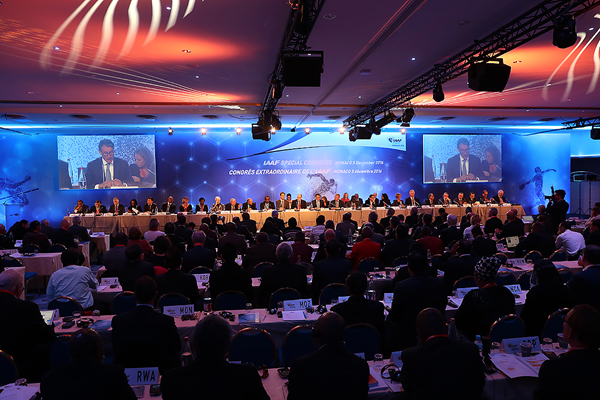 Coe reforms voted in by 182-10 landslide at IAAF Special Congress