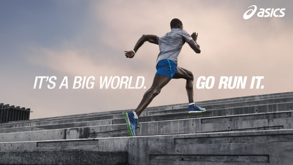 ASICS have replaced Adidas as an Official Partner of the IAAF ©ASICS