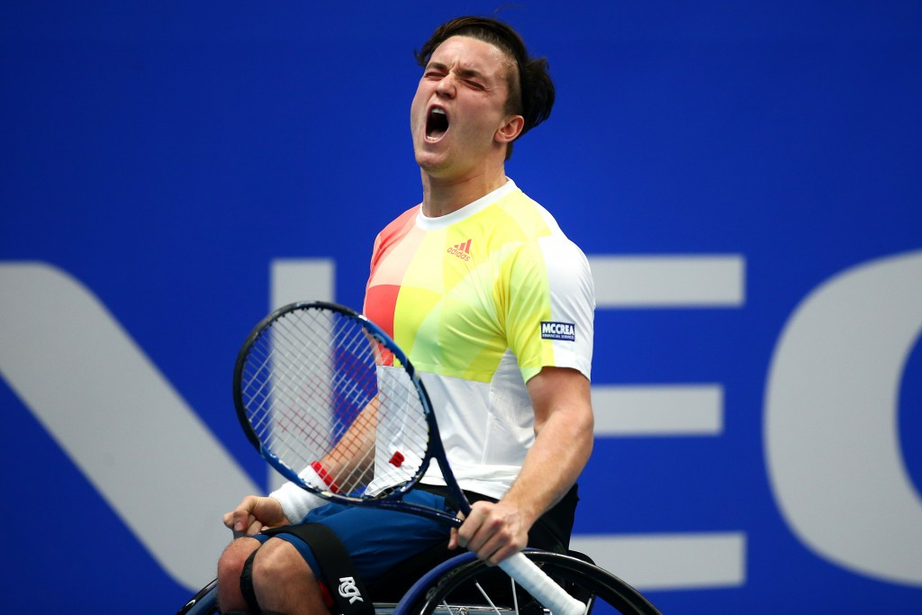 Reid secures year-ending world number one ranking after reaching final of NEC Wheelchair Tennis Masters