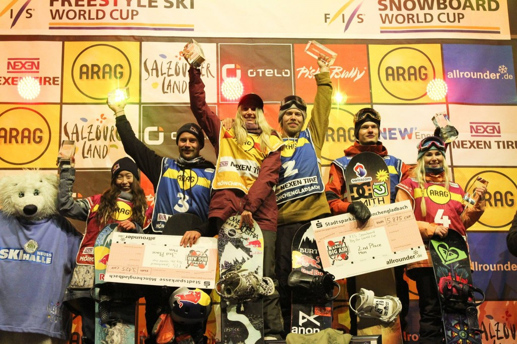 Gasser extends winning streak on FIS Snowboard Big Air World Cup tour