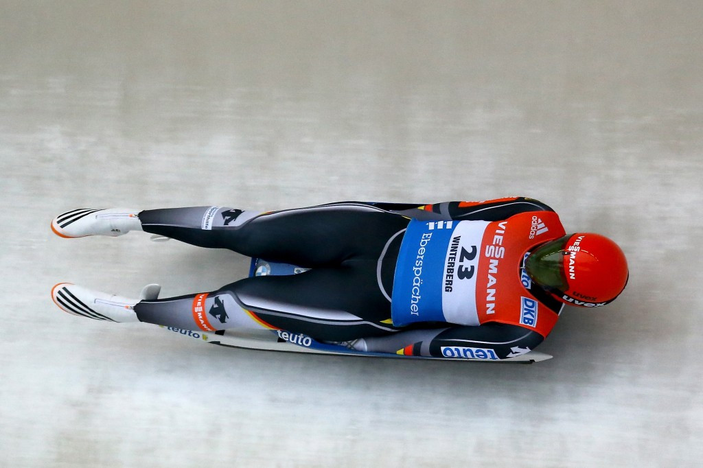 Hüfner equals Luge World Cup record after earning first Lake Placid win