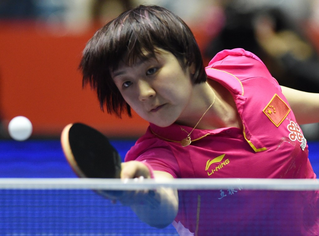 Chen Meng secured a shock win in the women's singles competition by beating favourite Ding Ning in the final