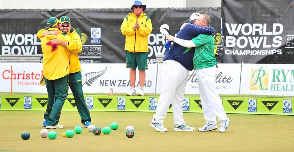 Australia earn men's pairs and women's singles titles at World Bowls Championships
