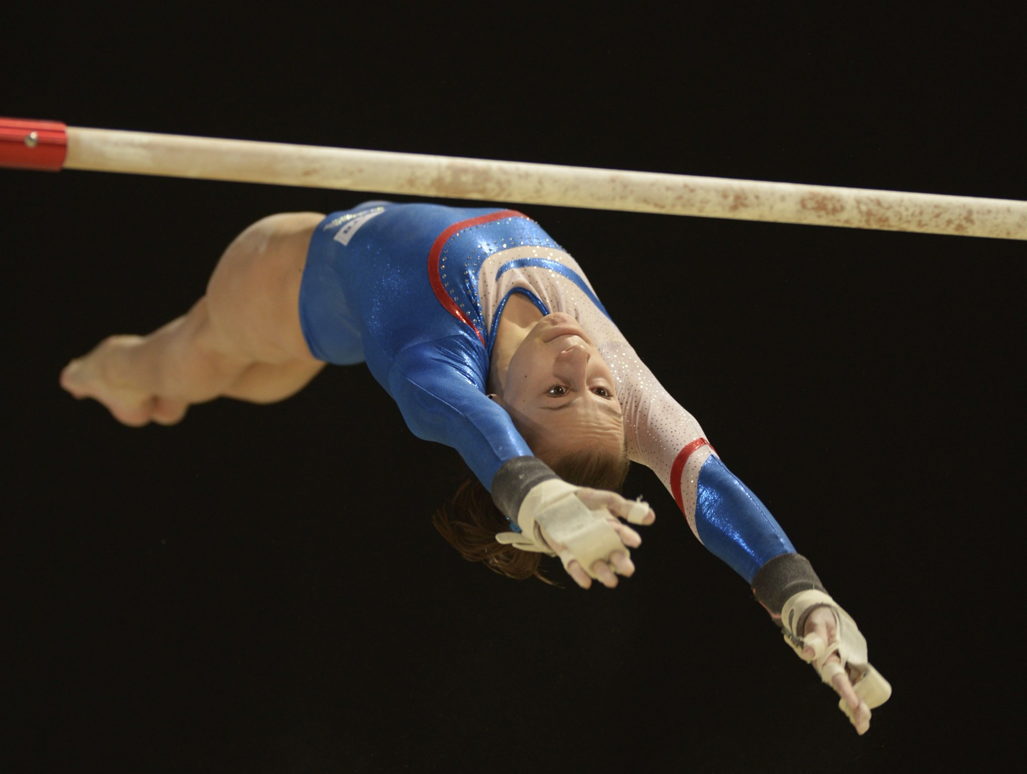 Maria Kharenkova is leading the all-around standings after day one at the European Artistic Gymnastics Individual Championships ©UEG