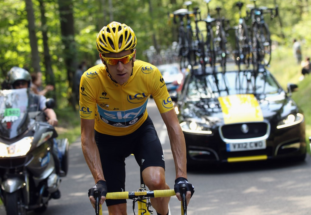 A report from MPs claimed Team Sky had used the TUE system to help prepare their riders for the 2012 Tour de France ©Getty Images