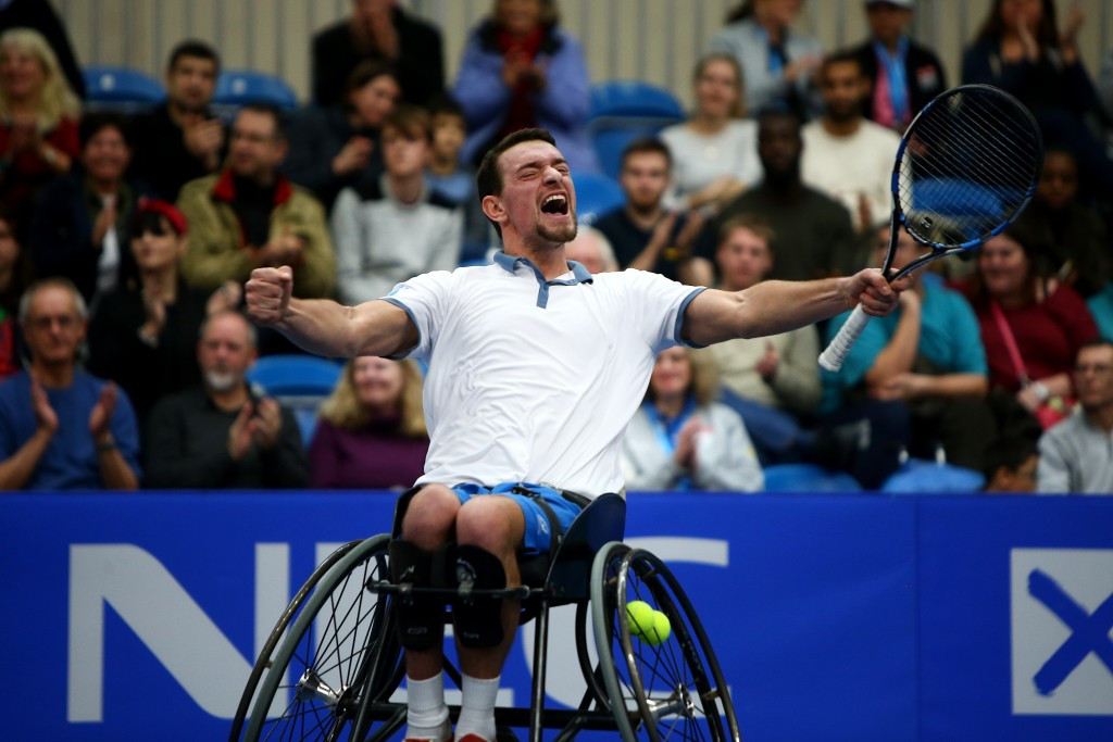 Gerard beats newly-crowned world number one Reid to secure defence of NEC Wheelchair Tennis Masters crown