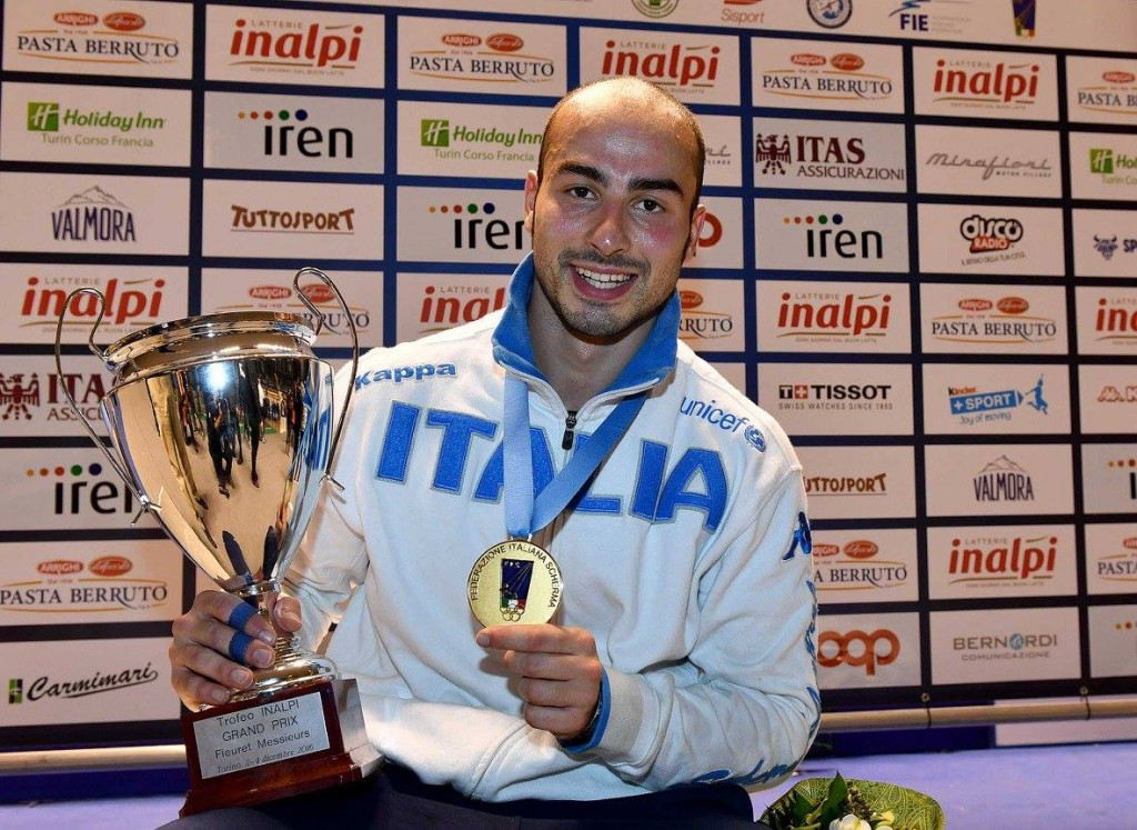Home favourite Foconi claims men's title at FIE Turin Foil Grand Prix