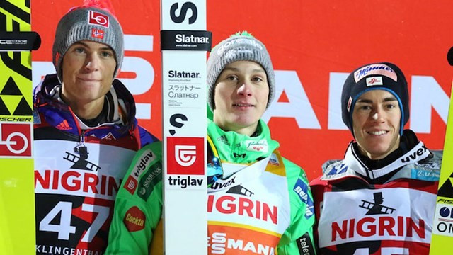 Prevc continues superb start to season with victory at FIS Ski Jumping World Cup in Klingenthal