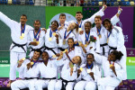 France stun Germany and Georgia to take double team judo gold at Baku 2015