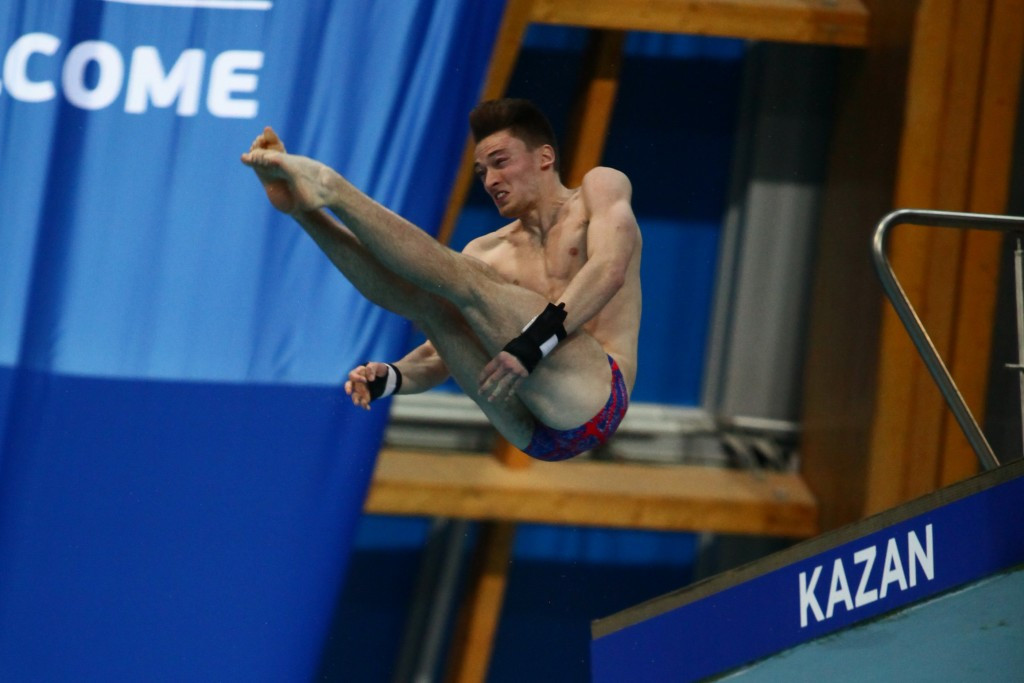Action concluded today at the FINA World Junior Diving Championships in Kazan ©FINA