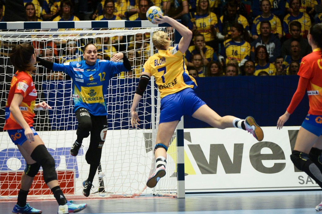 Linn Blohm about to score for Sweden ©Getty Images