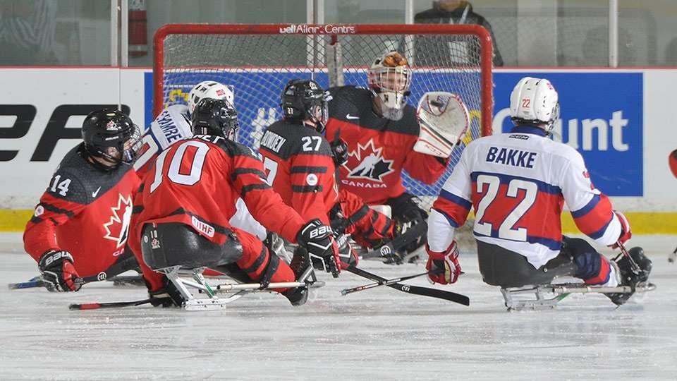 Hosts Canada begin World Sledge Hockey Challenge with impressive victory
