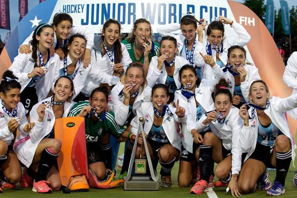 Argentina stun defending champions The Netherlands to claim Women's Junior Hockey World Cup