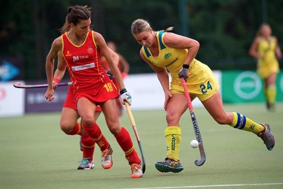 Australia overcame Spain in the bronze medal match ©FIH