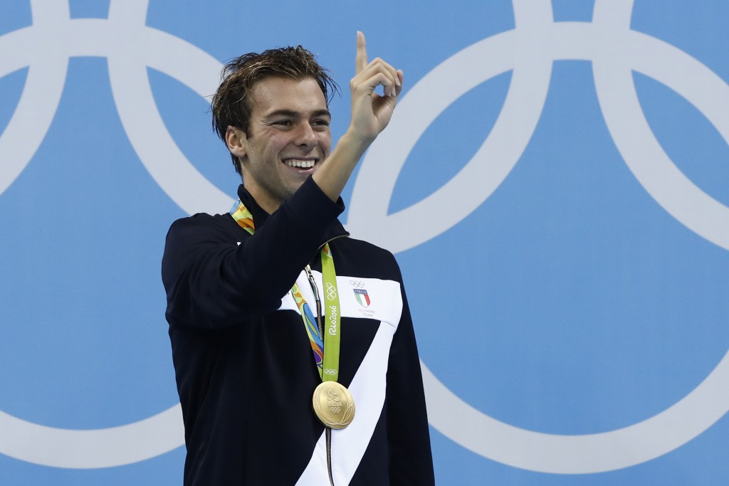 Italy's Paltrinieri among Rio 2016 gold medallists set to compete at FINA World Short Course Swimming Championships