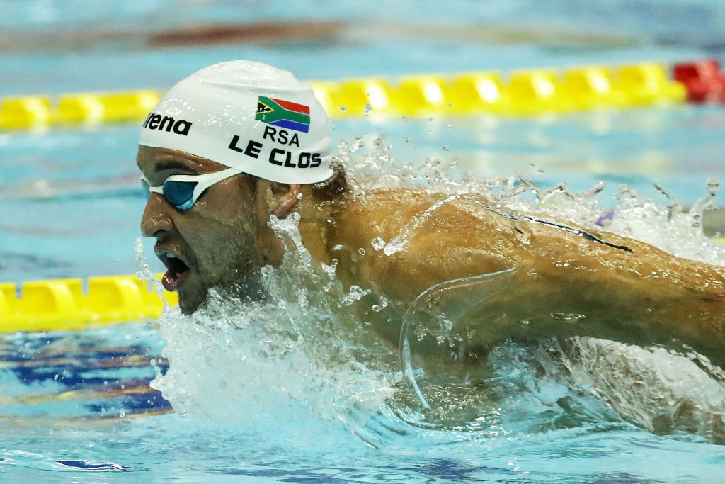 South Africa's Chad Le Clos is also expected to compete in Windsor ©Getty Images