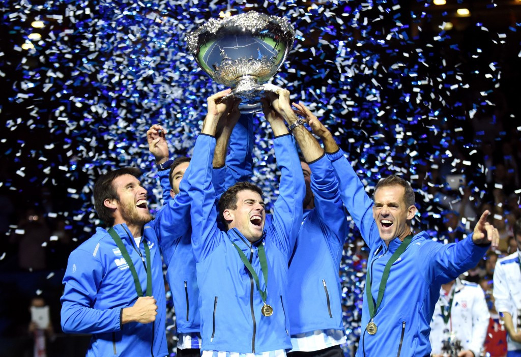 The International Tennis Federation are the sport's world governing body, helping run competitions such as the Davis Cup, won recently by Argentina ©Getty Images