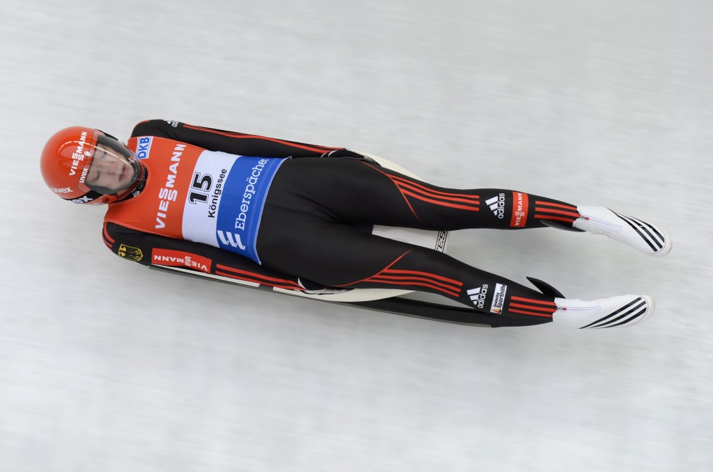 German-born luger Aileen Frisch is set to be handed South Korean citizenship ©Getty Images