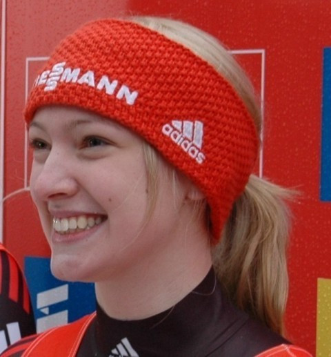 German luger Aileen Frisch has already made her first appearance for South Korea ©FIL