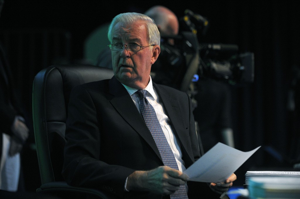 The meeting comes three weeks after Sir Craig Reedie was attacked at the ANOC General Assembly by delegates in what many felt was a concerted strategy orchestrated by the IOC ©Getty Images