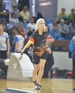 Poppler leads German one-two in women's qualifying at World Bowling Singles Championships