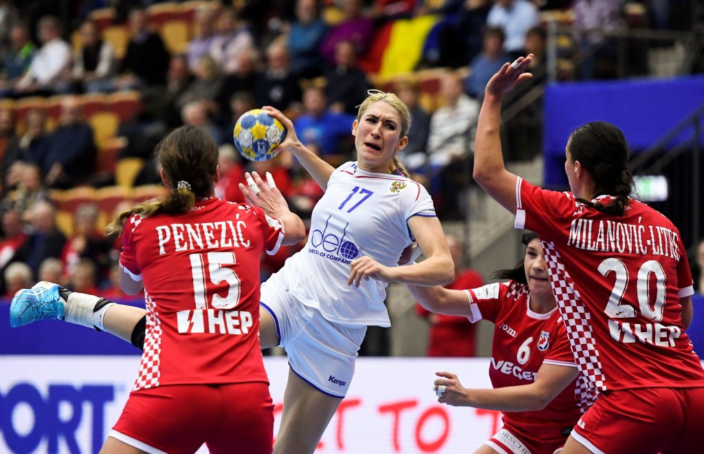 Olympic champions Russia successfully begun their quest to claim the European Women's Handball Championship after battling to a hard-fought win over Croatia at the Helsingborg Arena in Sweden today ©Getty Images