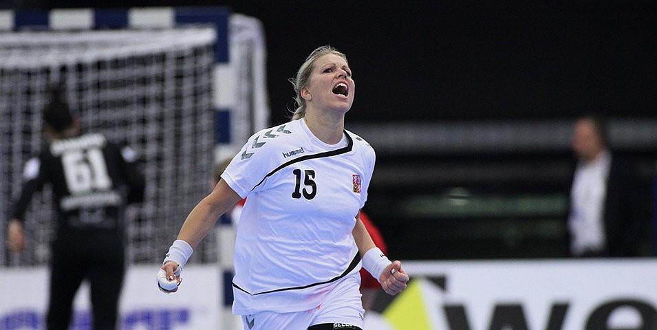Czech Republic overcame Hungary 27-22 in Group C ©Rasmus Terkelsen/EHF
